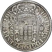 800 Réis- José I – avers
