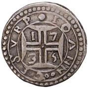 200 reis - João V (Colonie portugaise) – revers
