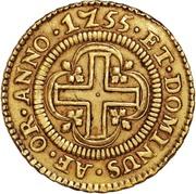 4.000 Réis - José I (Atellier de Lisbonne) – revers