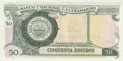 50 Escudos (Banco de Moçambique Overprint) – revers