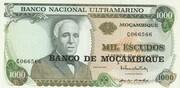 1000 Escudos (Banco de Moçambique Overprint) – avers