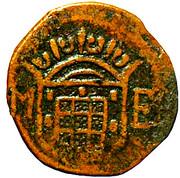 10 reis - João V (Colonie portugaise) – avers