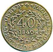 40 reis - Maria II – avers