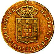 80 reis - Maria II – avers