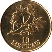 10 meticais – revers