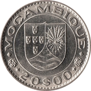 20 escudos – avers