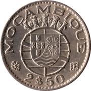 2,50 escudos -  avers
