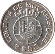 2,50 escudos – revers