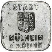 50 pfennig - Mülheim an der Ruhr – avers