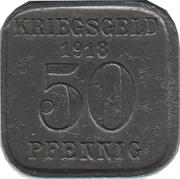 50 pfennig - Mülheim an der Ruhr – revers