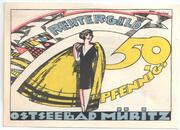 50 Pfennig (Müritz) -  revers