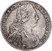 1 Thaler - Joseph II – revers