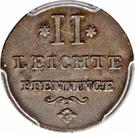 2 Leichte Pfenninge - Josef II – revers
