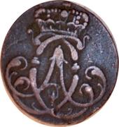 3 pfennig Clemens August – avers