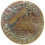 4 Pfennig - Franz Arnold von Wolff-Metternich – revers