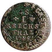 1/48 thaler - Clemens August de Bavière – revers