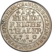 1/12 Thaler - Franz Arnold – revers
