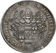 1 Thaler - Christoph Bernhard von Galen – avers