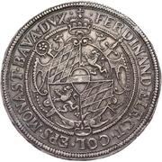 3 thaler Ferdinand de Bavière – avers