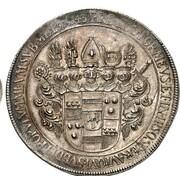 2 thaler Christoph Bernhard de Galen – revers