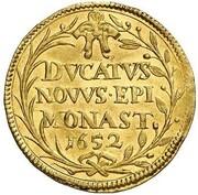 1 ducat Christoph Bernhard de Galen – revers