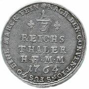 1/3 Reichstaler - Maximilian Friedrich von Königsegg 1762-1784 – revers