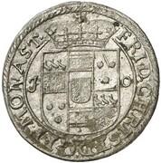 6 Pfennig - Friedrich Christian von Plettenberg – avers