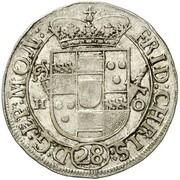 1 Schilling - Friedrich Christian von Plettenberg – avers