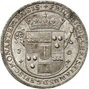 24 Mariengroschen - Friedrich Christian von Plettenberg – avers