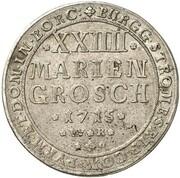 24 Mariengroschen - Franz Arnold von Wolff-Metternich – revers