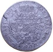 ⅙ thaler Maximilian Friedrich de Königseck – avers