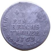 ⅙ thaler Maximilian Friedrich de Königseck – revers