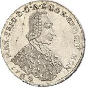 2/3 Thaler - Maximilian Friedrich von Königseck – avers