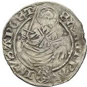 1 Weißpfennig - Johann von Pfalz-Simmern -  revers