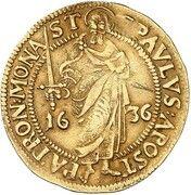 1 goldgulden Ferdinand de Bavière – revers
