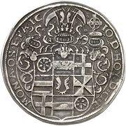 1 Thaler - Johann IV von Hoya – avers