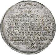 1 Thaler - Christoph Bernhard von Galen (Death) – avers