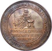 1¼ thaler Ferdinand von Bayern – avers