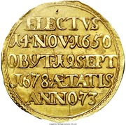 1 ducat Christoph Bernhard von Galen – revers