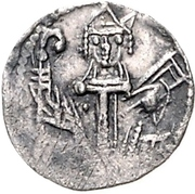 1 Denar - Otto II. von der Lippe – avers