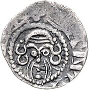 1 Denar - Otto II. von der Lippe – revers