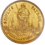 1 taler Ferdinand de Bavière (Frappe essai en or) – avers