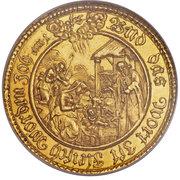 1 taler Ferdinand de Bavière (Frappe essai en or) – revers