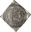 ½ Thaler (Klippe; Siege coinage) – avers