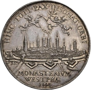 1¼ thaler Ferdinand de Bavière (Paix de Westphalie; Münster) – avers