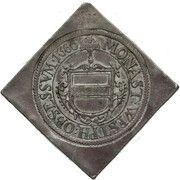 1 Thaler (Klippe; Siege coinage) – avers