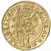 1 Ducat - Joachim, Heinrich II, Johann and Georg – revers
