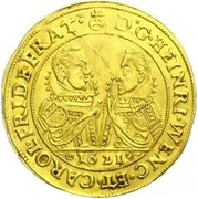4 ducat Heinrich Wenzel & Karl Friedrich – avers