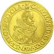 9 ducat Karl II – avers