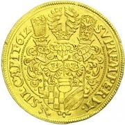 9 ducat Karl II – revers